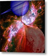 Abstract 168 Metal Print by J D Owen