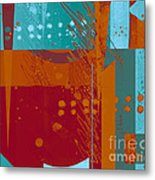Abstract 203 Metal Print by Ann Powell