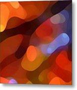 Abstract Fall Light Metal Print by Amy Vangsgard
