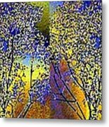 Abstract Fusion 100 Metal Print by Will Borden