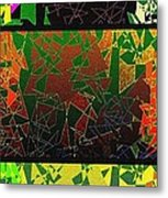 Abstract Fusion 193 Metal Print by Will Borden