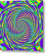 Abstract Hypnotic Metal Print by Kenny Francis