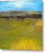 Abstract Landscape - The Highway Series Metal Print by Michelle Calkins