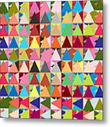 Abstract Of Colors  Metal Print by Mark Ashkenazi