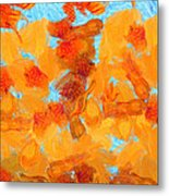 Abstract Summer Metal Print by Pixel Chimp