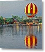 Across The Water Metal Print by Jenny Hudson