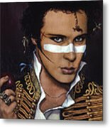 Adam Ant Metal Print by Jane Whiting Chrzanoska