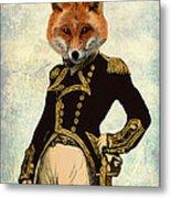 Admiral Fox Full Metal Print by Kelly McLaughlan