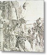Adoration Of The Magi Metal Print by Giovanni Battista Tiepolo