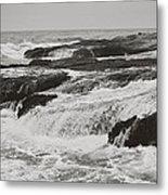 After The Crash Metal Print by Laurie Search