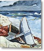 After The Hurricane Metal Print by Pg Reproductions