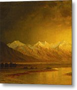 After The Storm Metal Print by Gilbert Davis Munger