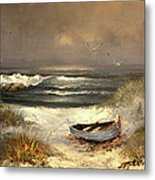 After The Storm Passed Metal Print by Sandi OReilly