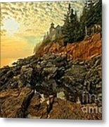 Afternoon At Bass Harbor Metal Print by Adam Jewell
