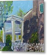 Afternoon At Carnton Plantation Metal Print by Susan E Jones