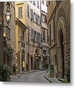 Afternoon In Florence Metal Print by Michael Flood