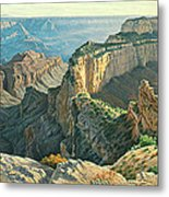 Afternoon-north Rim Metal Print by Paul Krapf