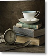 Afternoon Tea Metal Print by Amy Weiss