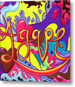 Agape Metal Print by Nancy Cupp
