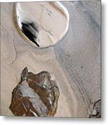 Agate Beach Metal Print by Sharon Jones