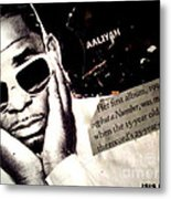 Age Aint Nothing But A Number Metal Print by Isis Kenney