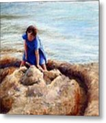 Age Of Innocence Metal Print by Mary Giacomini