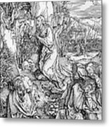 Agony In The Garden From The 'great Passion' Series Metal Print by Albrecht Duerer