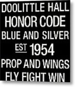 Air Force College Town Wall Art Metal Print by Replay Photos