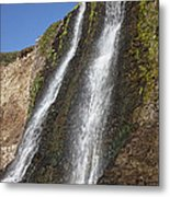 Alamere Falls Pacific Coast Metal Print by Garry Gay