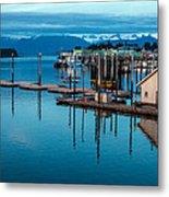 Alaska Seaplanes Metal Print by Mike Reid