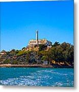Alcatraz Island Metal Print by James O Thompson
