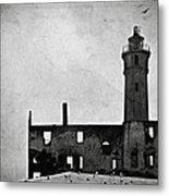 Alcatraz Island Lighthouse Metal Print by RicardMN Photography