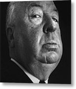 Alfred Hitchcock Metal Print by Studio Photo