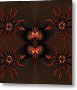 Algorithmic Flowers Metal Print by Claude McCoy
