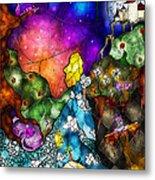 Alice's Wonderland Metal Print by Mandie Manzano