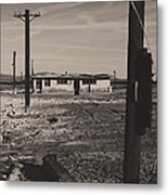 All That's Left Of Us Metal Print by Laurie Search