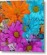 All The Flower Petals In This World 2 Metal Print by Kume Bryant