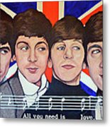 All You Need Is Love  Metal Print by Tom Roderick