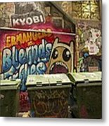 Alley Graffiti Metal Print by Stuart Litoff