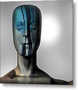 Almost Man In The Middle Metal Print by Bob Orsillo