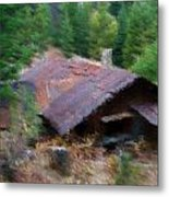 Alone In The Woods Metal Print by Kevin Bone