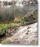 Along The Black Water River Metal Print by JC Findley
