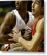 Alonzo Mourning Metal Print by Don Olea