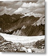 Alpine Landscape Metal Print by Frank Tschakert