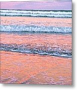 Amazing Pink Sunset Metal Print by Michele Penner