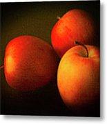 Ambrosia Apples Metal Print by Theresa Tahara