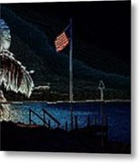 America All The Way 8 Metal Print by Rene Triay Photography