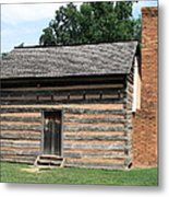 American Log Cabin Metal Print by Frank Romeo