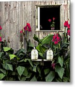 Amish Barn Metal Print by Diane Diederich