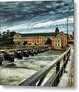 An Evening Down In The Flats Metal Print by Mark David Zahn